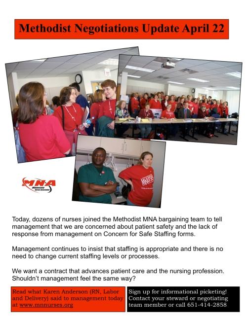 Methodist – Minnesota Nurses Association