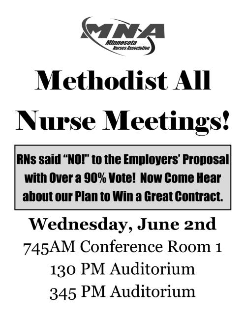 Park Nicollet Methodist Hospital – Minnesota Nurses Association
