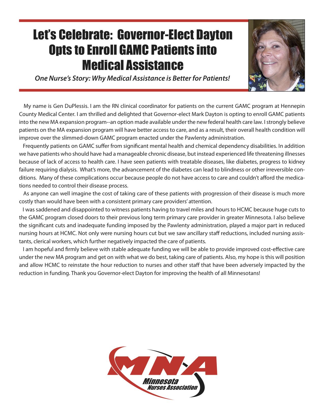 Hospitals | Minnesota Nurses | Page 26