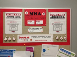 Allina - Westhealth nurses ran a strong and responsive campaign.