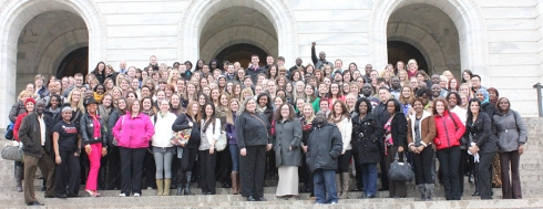 2014 student day on the hill