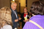 A visit with Rep. Lyndon Carlson